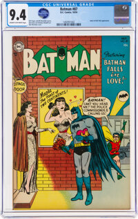 Batman #87 (DC, 1954) CGC NM 9.4 Cream to off-white pages
