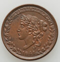 1838 Mint Drop, Low-68, HT-64, W-11-440a, R.1, MS62 Brown Uncertified