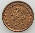 1837 Liberty-Not One Cent, Low-31, HT-46, W-11-120a, R.1--Cleaned--AU Details Uncertified