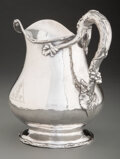 Silver & Vertu, A Gorham Mfg. Co. Silver Water Pitcher, Providence, Rhode Island, early 20th century . Marks: (lion-anchor-G), STERLING, W...