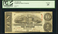 Confederate Notes:1863 Issues, T59 $10 1863. ...
