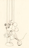 Animation Art, The Mad Doctor Mickey Mouse Animation Drawing (Walt Disney, 1933)....