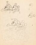 Animation Art:Production Drawing, Mickey's Rival Mickey and Minnie Character Study/ Publicity Art (Walt Disney, 1936)....