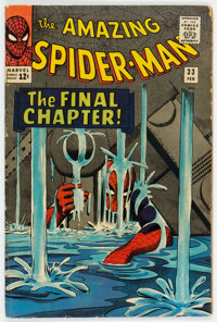 The Amazing Spider-Man #33 (Marvel, 1966) Condition: VG+