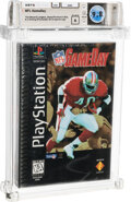 Video Games:Playstation, NFL GameDay - Wata 9.8 A Sealed [Cardboard Longbox, Early Production], PS1 Sony 1995 USA....