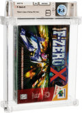 Video Games:Nintendo, F-Zero X - Wata 9.6 A++ Sealed, N64 Nintendo 1998 USA....