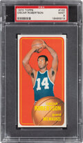 Basketball Cards:Singles (1970-1979), 1970 Topps Oscar Robertson #100 PSA Mint 9 - None Higher....