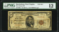 National Bank Notes:West Virginia, Martinsburg, WV - $5 1929 Ty. 1 The Citizens National Bank Ch. # 4811 PMG Fine 12.. ...