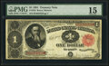 Large Size:Treasury Notes, Fr. 352 $1 1891 Treasury Note PMG Choice Fine 15.. ...