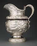 Silver & Vertu, A Tiffany & Co. Silver Water Pitcher with Nautical Motifs, New York, 1886. Marks: TIFFANY & CO., 8463 MAKERS 1426, STERLIN...