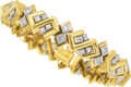 Estate Jewelry:Bracelets, Diamond, Gold Bracelet, Jose Hess. ...