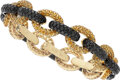 Estate Jewelry:Bracelets, Colored Diamond, Yellow Sapphire, Gold Bracelet, Eli Frei. ...