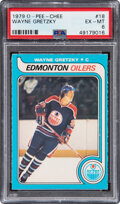 Hockey Cards:Singles (1970-Now), 1979 O-Pee-Chee Wayne Gretzky #18 PSA EX-MT 6....