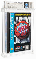 Video Games:Sega, NBA Jam - Wata 9.2 SegaCD Acclaim 1993 USA....