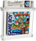 Video Games:Nintendo, Wario Land: Super Mario Land 3 - Wata 7.0 A+ Sealed, GB Nintendo 1994 USA....
