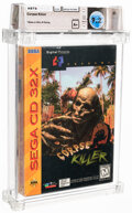 Video Games:Sega, Corpse Killer - Wata 9.2 A+ Sealed, CD/32X Digital Pictures 1994 USA. ...