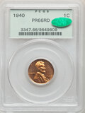 Proof Lincoln Cents, 1940 1C PR66 Red PCGS. CAC. PCGS Population: (285/22). NGC Census: (140/15). CDN: $250 Whsle. Bid for NGC/PCGS PR66. Mintag...
