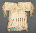 American Indian Art:Beadwork and Quillwork, A Cheyenne Girl's Beaded Hide Dress...