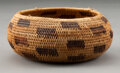 American Indian Art:Baskets, A Pomo Coiled Bowl ...