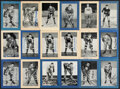 Autographs:Sports Cards, Signed 1934-1943 Bee Hive Hockey Photos (Group One) Collection (32). ...