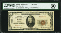 Paris, KY - $20 1929 Ty. 1 The First National Bank Ch. # 6323 PMG Very Fine 30