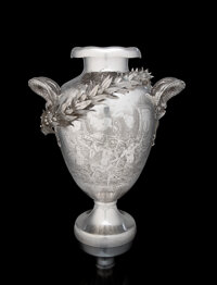 A Tiffany & Co. Silver Yachting Trophy: Goelet Cup, New York, 1892 Designed by James H. Whit