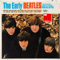 Music Memorabilia:Recordings, The Early Beatles Mono Vinyl LP With Queens Litho Sealed (Capitol, T 2309)....