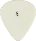 "Music Memorabilia:Memorabilia, Elvis Presley Owned Rare White Teardrop ""E"" Guitar Pick...."