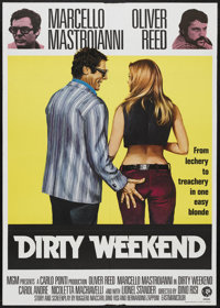 "Dirty Weekend (MGM, 1973). British One Sheet (27"" X 40""). Comedy"
