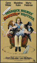 "Movie Posters:Comedy, The Adventure of Sherlock Holmes' Smarter Brother (20th Century Fox, 1975). One Sheet (27"" X 41""). Comedy...."