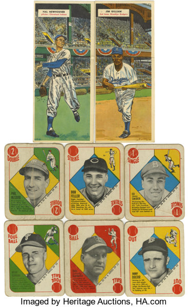 1951 1955 Topps Baseball Group Lot Of 78 Includes 38 1951 Lot