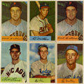 Baseball Cards:Lots, 1954 Bowman Baseball Group Lot of 124. Offered is a 124-cardcollection of 1954 Bowman, including a few starts and minor sta...