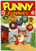 Golden Age (1938-1955):Funny Animal, Funny Funnies #1 Carson City pedigree (Nedor Publications, 1943)Condition: FN+....