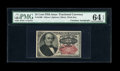 Fractional Currency:Fifth Issue, Fr. 1309 25c Fifth Issue With A.U. Wyman Courtesy Autograph PMGChoice Uncirculated 64 EPQ....