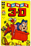 Golden Age (1938-1955):Funny Animal, Funny 3-D #1 (Harvey, 1953) Condition: VF-....