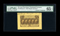 Fractional Currency:First Issue, Fr. 1282SP 25c First Issue Wide Margin Face With D.N. MorganCourtesy Autograph PMG Gem Uncirculated 65 EPQ....