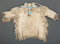 American Indian Art:Beadwork and Quillwork, A Northern Plains Child's Beaded Hide Shirt ...