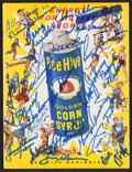 Autographs:Others, Signed Bee Hive Golden Corn Syrup School Booklet with 40+ Signatures. ...
