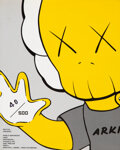 Pulp, Pulp-like, Digests and Paperback Art, KAWS X Arkitip Magazine. Issue No. 0011, 2001. Offset lithograph magazine. 9-1/2 x 7-1/2 inches (24.1 x 19.1 cm). Ed. 40...