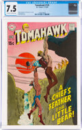 Silver Age (1956-1969):Adventure, Tomahawk #125 (DC, 1969) CGC VF- 7.5 Off-white to white pages....