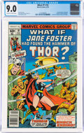 Bronze Age (1970-1979):Superhero, What If? #10 (Marvel, 1978) CGC VF/NM 9.0 Off-white to white pages....