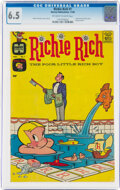 Silver Age (1956-1969):Humor, Richie Rich #1 (Harvey, 1960) CGC FN+ 6.5 Off-white to white pages....