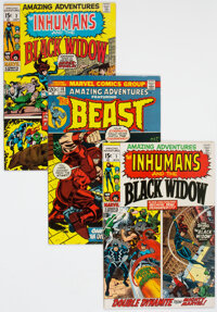 Amazing Adventures Group of 28 (Marvel, 1970-81) Condition: Average VG/FN.... (Total: 28 Comic Books)