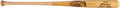 Baseball Collectibles:Bats, 1980's Mickey Mantle Signed Bat. The Mick hated to...