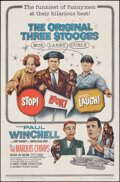"""Movie Posters:Comedy, Stop! Look! and Laugh! (Columbia, 1960). Folded, Fine/Very Fine. One Sheet (27"""" X 41""""). Comedy.. ..."""