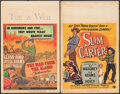 """Movie Posters:Western, The Man from the Alamo & Other Lot (Universal International, 1953). Overall: Fine/Very Fine. Window Cards (4) (14"""" X 22""""). W... (Total: 4 Items)"""