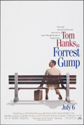 "Movie Posters:Comedy, Forrest Gump (Paramount, 1994). Rolled, Very Fine+. One Sheet (26.75"" X 39.75"") SS Advance. Comedy.. ..."