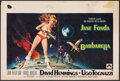 "Movie Posters:Science Fiction, Barbarella (Paramount, 1968). Folded, Fine+. Belgian (14.25"" X 21.25""). Science Fiction.. ..."
