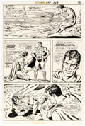 Original Comic Art, Curt Swan and Murphy Anderson Superman #243 Story Page 13 Original Art (DC, 1971)....