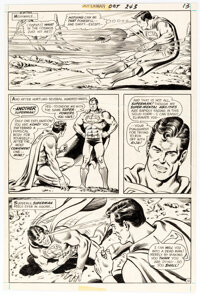 Curt Swan and Murphy Anderson Superman #243 Story Page 13 Original Art (DC, 1971)